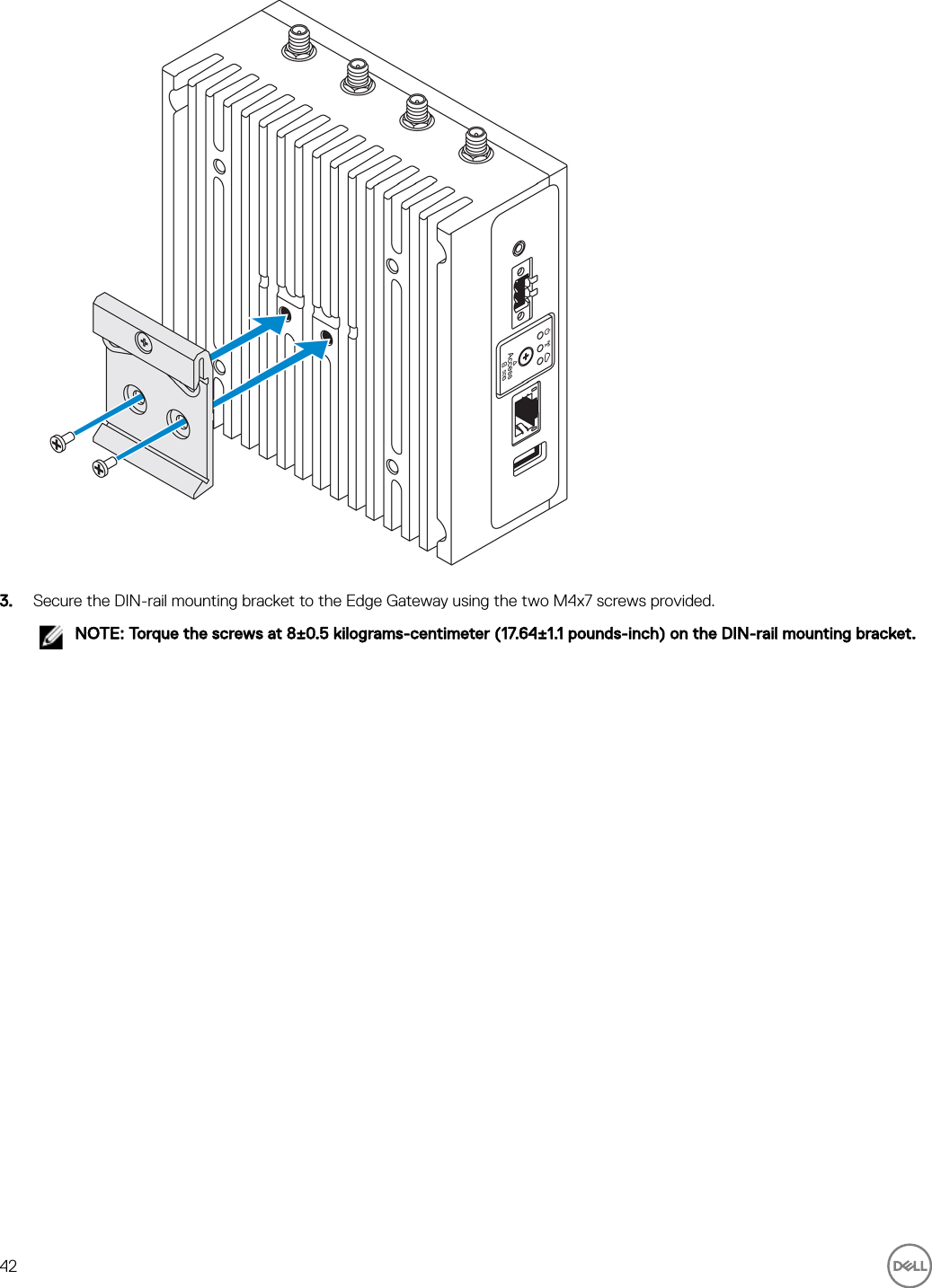 Dell edge gateway 3000 series 3001 Installation And