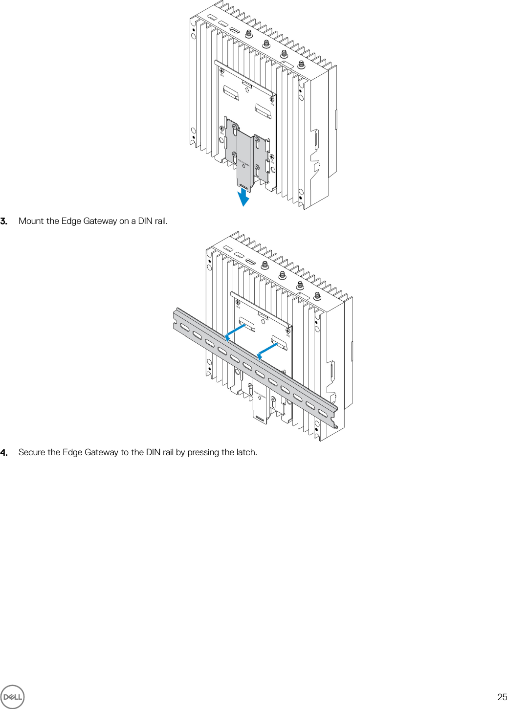 Dell edge gateway 5000 Series Installation And Operation