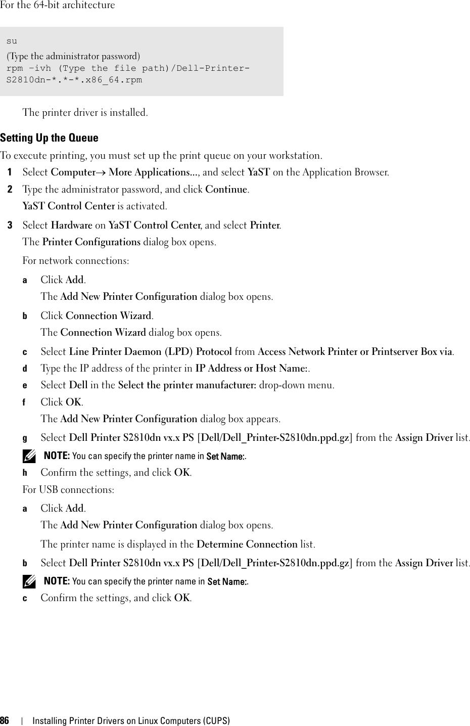 Dell s2810dn printer Smart User's Guide User Manual En us