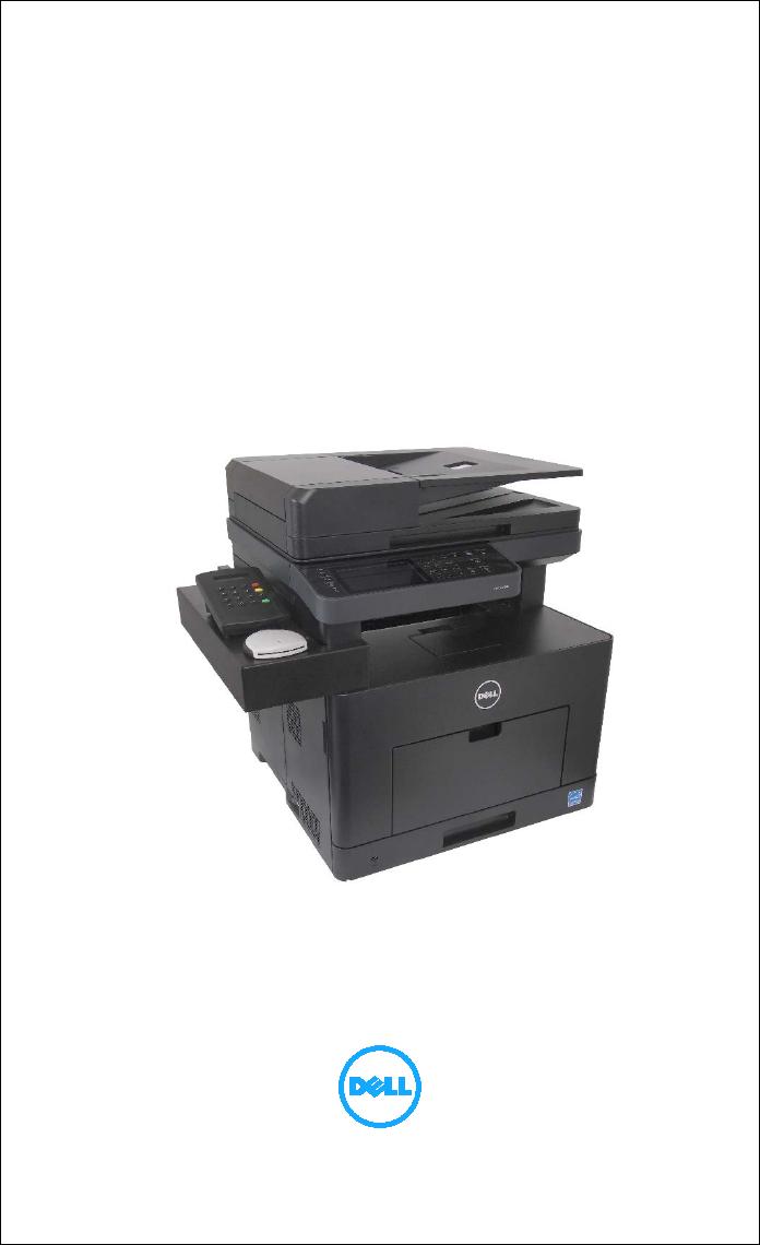 Dell S2815dn Printer Smart Multifunction Cacstar Card Reader Configuration Guide User Manual Deployment En Us