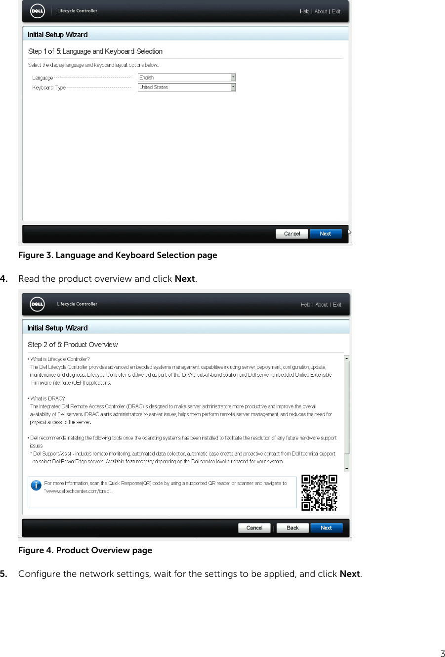 Dell Poweredge c4130 Setting Up Your Server Using Lifecycle