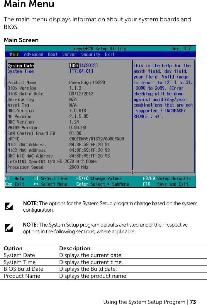 Dell Poweredge c6220 2 C6220II Hardware Owners Manual User Owner's En us