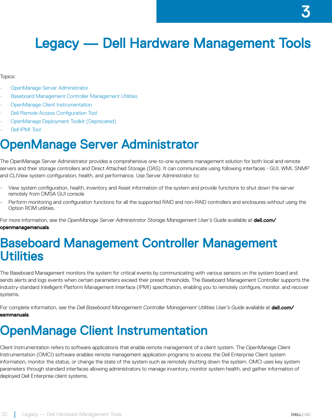 Dell Poweredge c6400 Systems Management Overview Guide Version 12 0