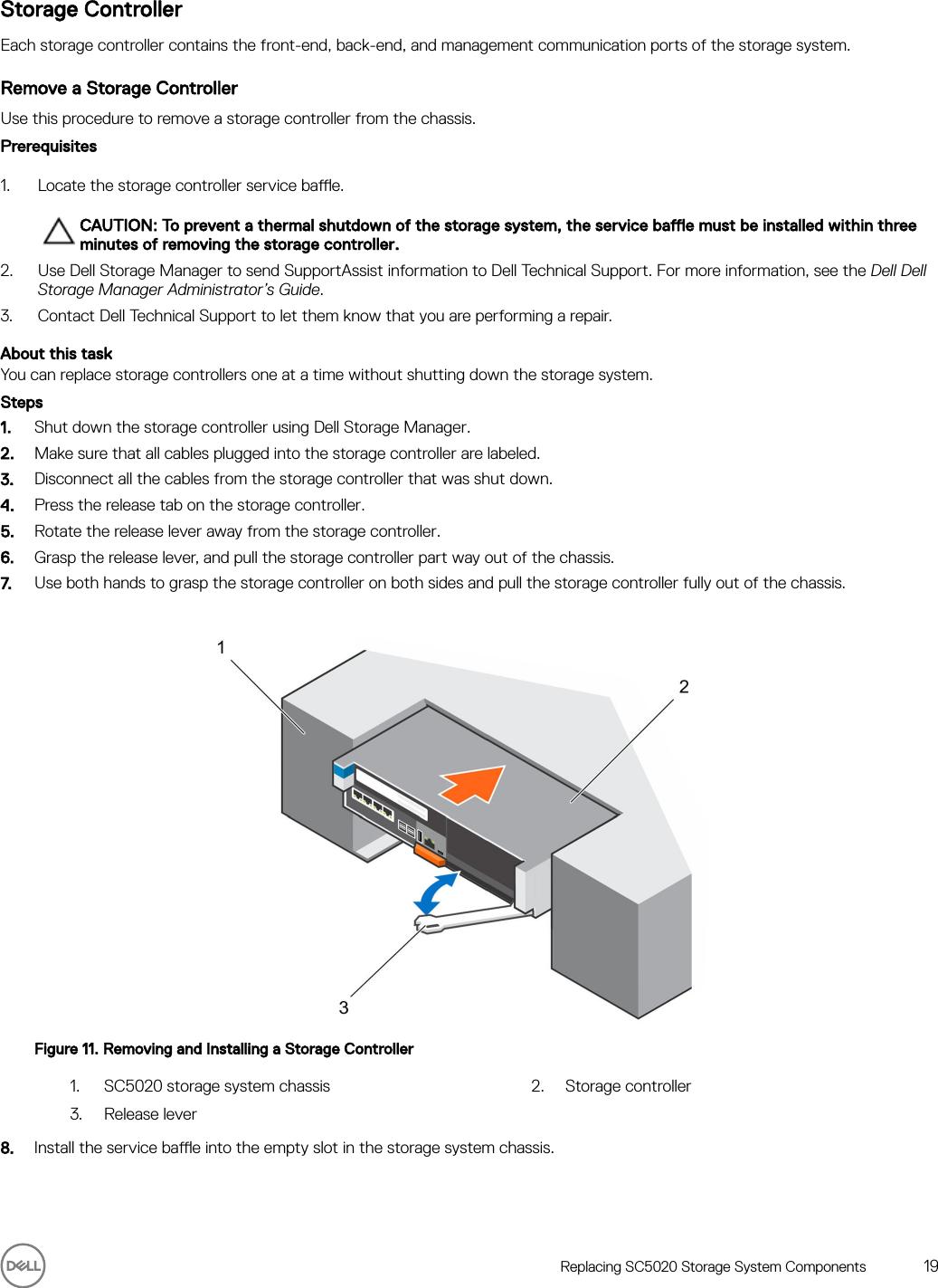 Dell Storage sc5020 System Owner's Manual User Owner's En us