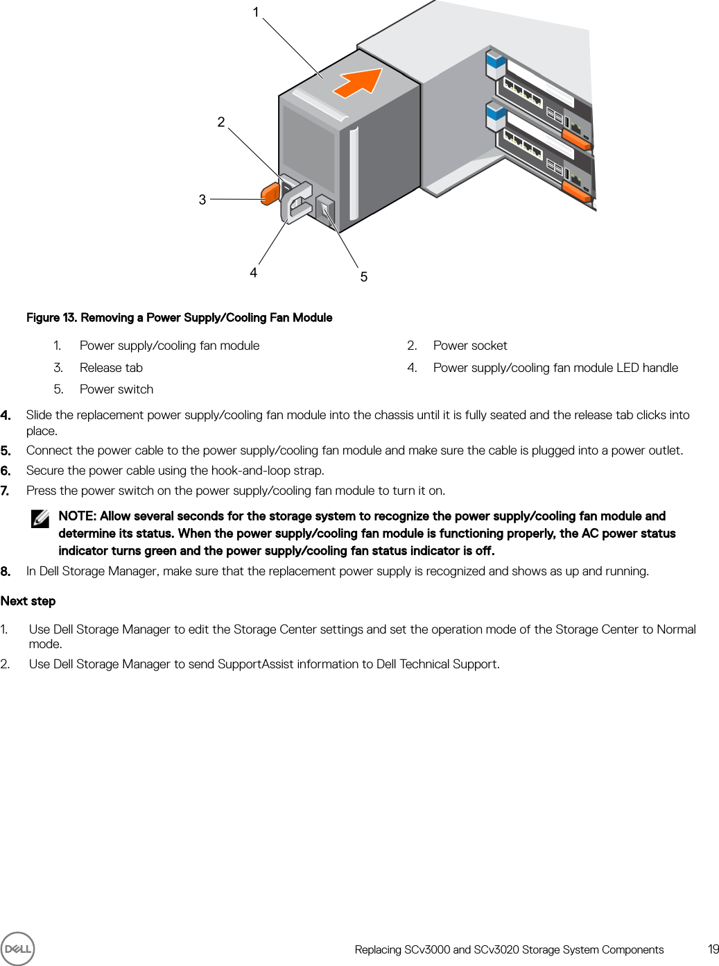 Dell Storage scv3000 And SCv3020 System Owner's Manual User Owner's