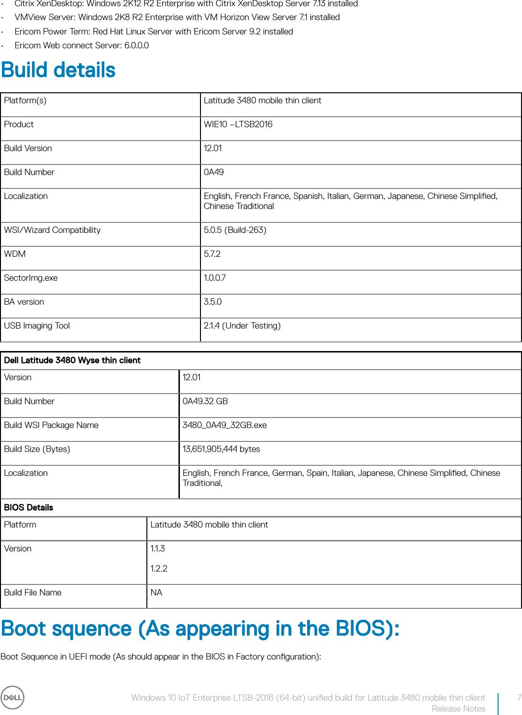 Dell Wyse 3480 mobile thin client Windows 10 IoT Enterprise