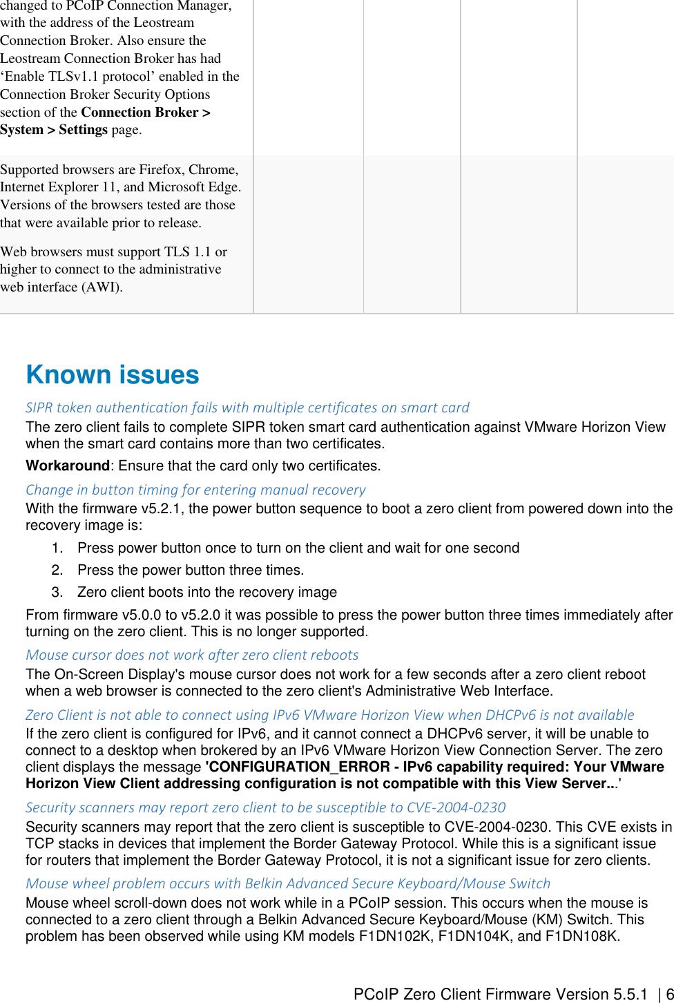 Dell Wyse 5050 aio PCoIP Zero Client Firmware Version 5 5 1