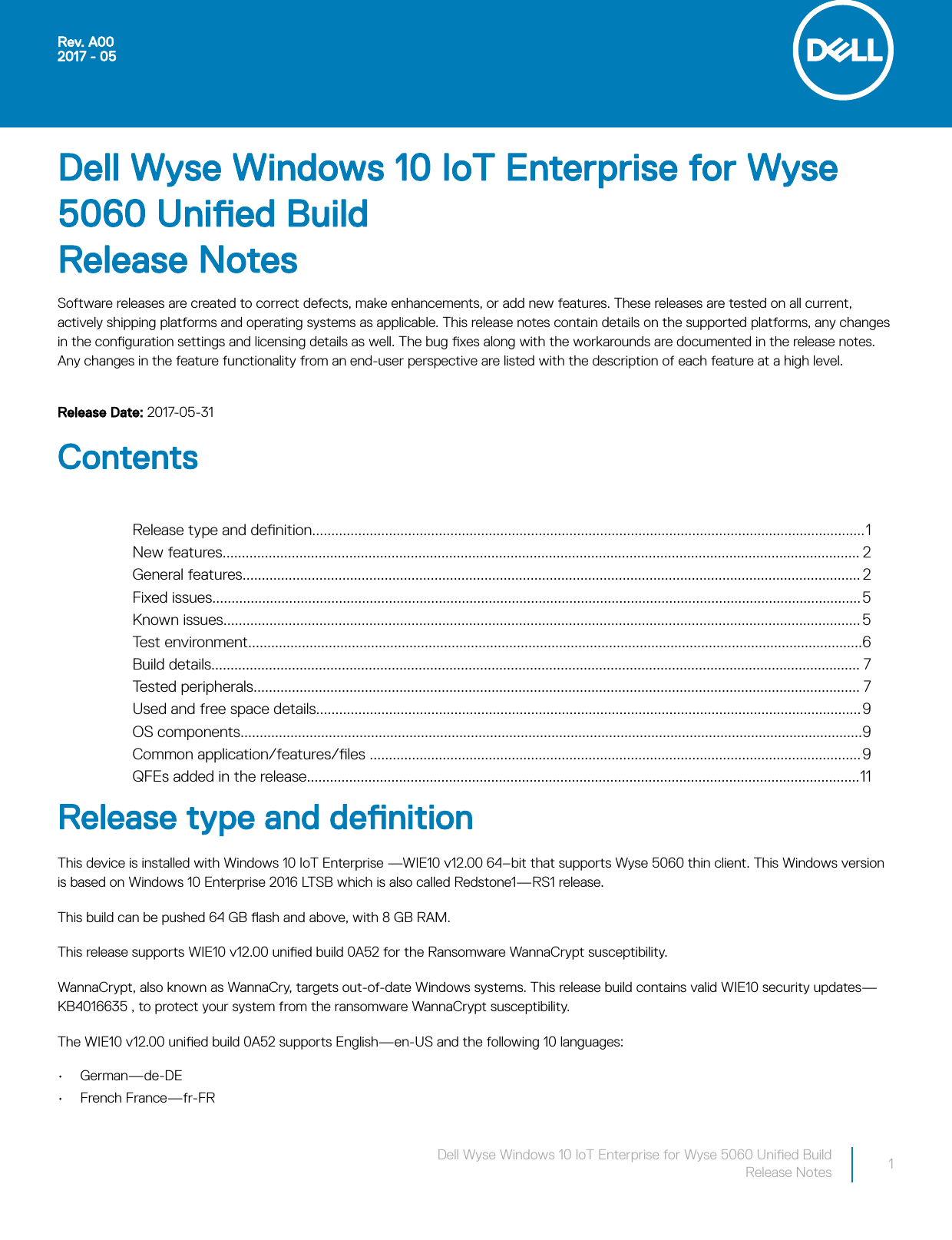 Dell Wyse 5060 thin client Windows 10 IoT Enterprise For