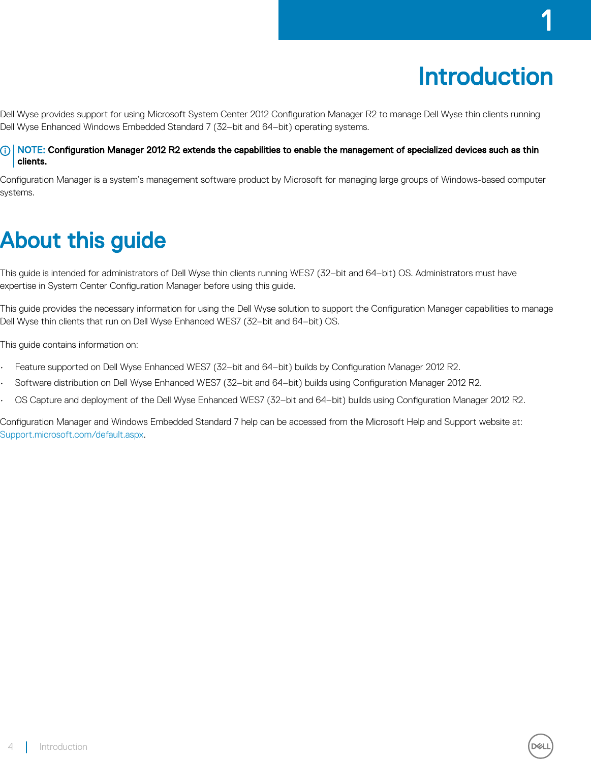 Wyse Configuration Manager Admin Guide