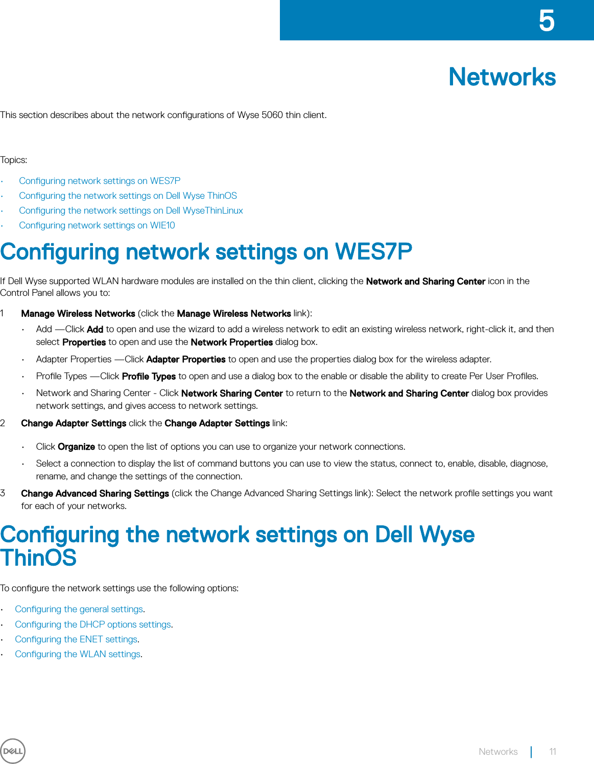 Dell Wyse 5060 thin client User Guide Manual User's Guide3 En us
