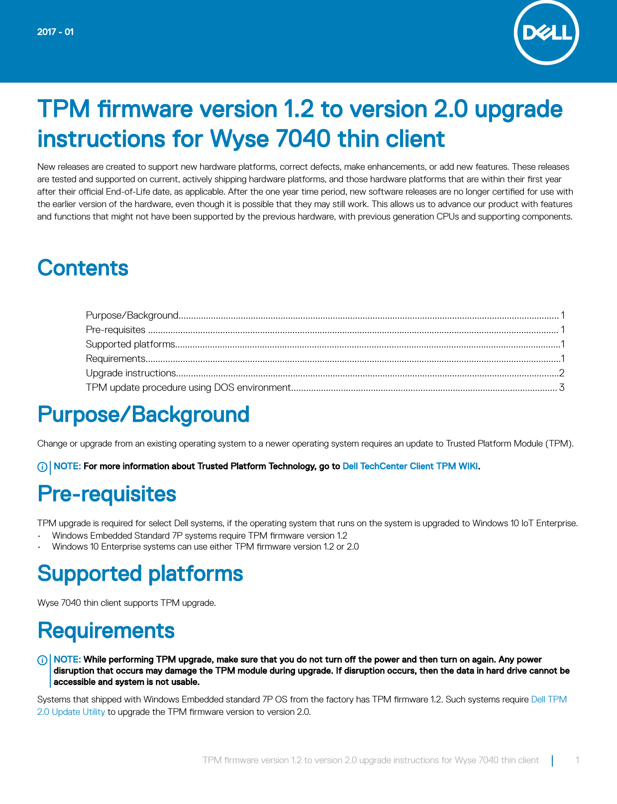 Tpm guide tpm reset quick reference guide tpms array dell wyse 7040 thin client tpm firmware version 1 2 to 2 0 upgrade fandeluxe Image collections