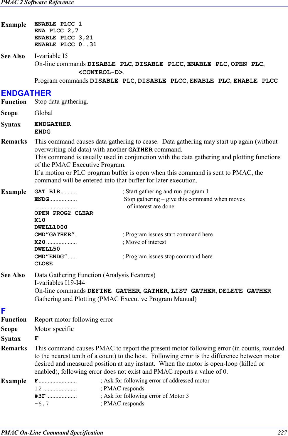 Delta Tau Pmac Mini Pci Reference Manual And PMAC2 Software
