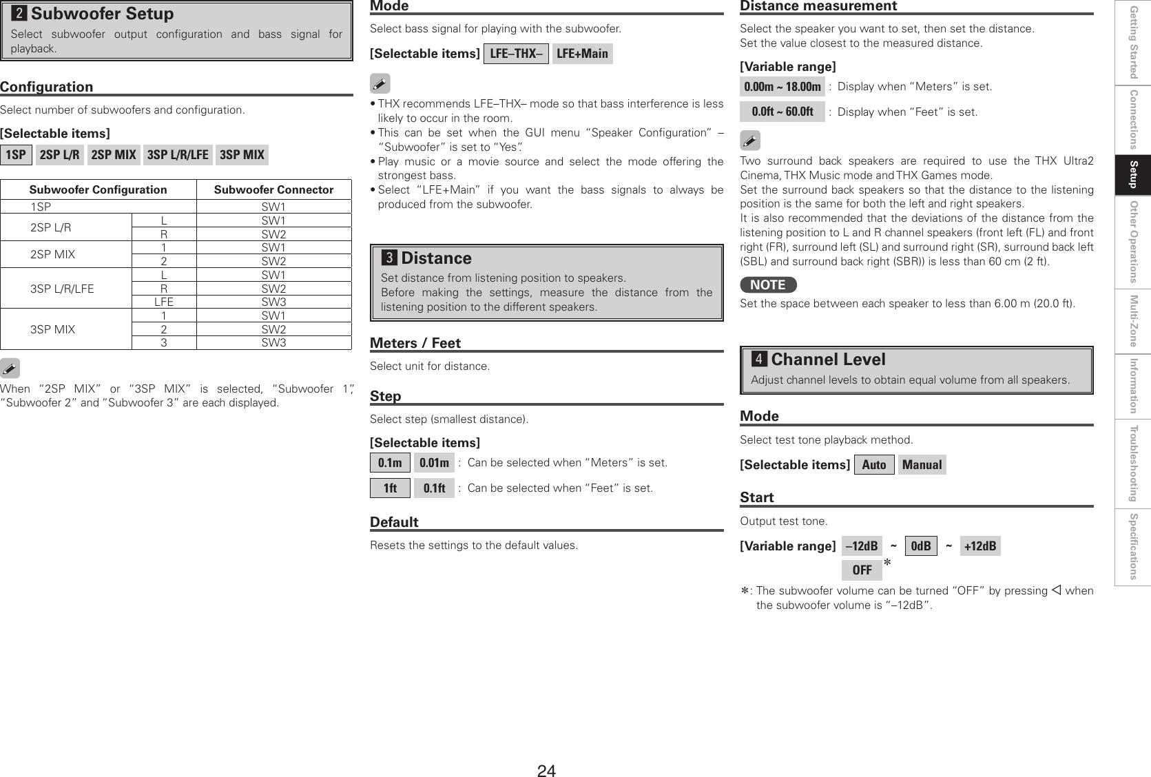 Denon Stereo Amplifier Avc A1Hd Users Manual