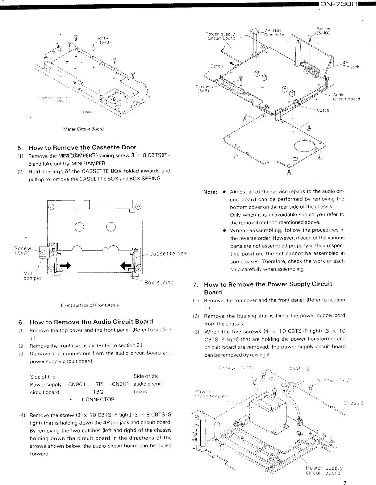 Denon Dn 730R Users Manual