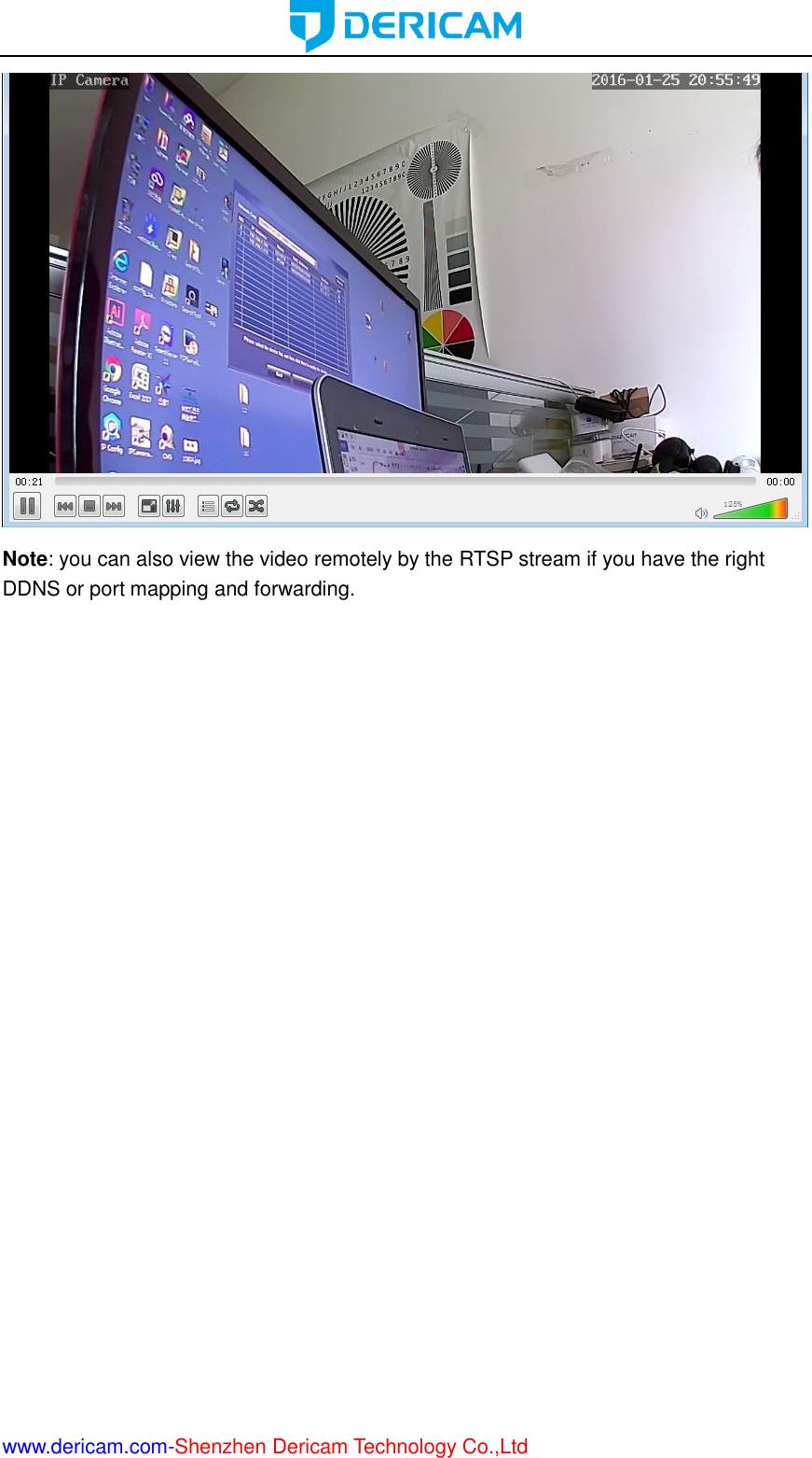 Dericam Technology S1 IP Camera User Manual