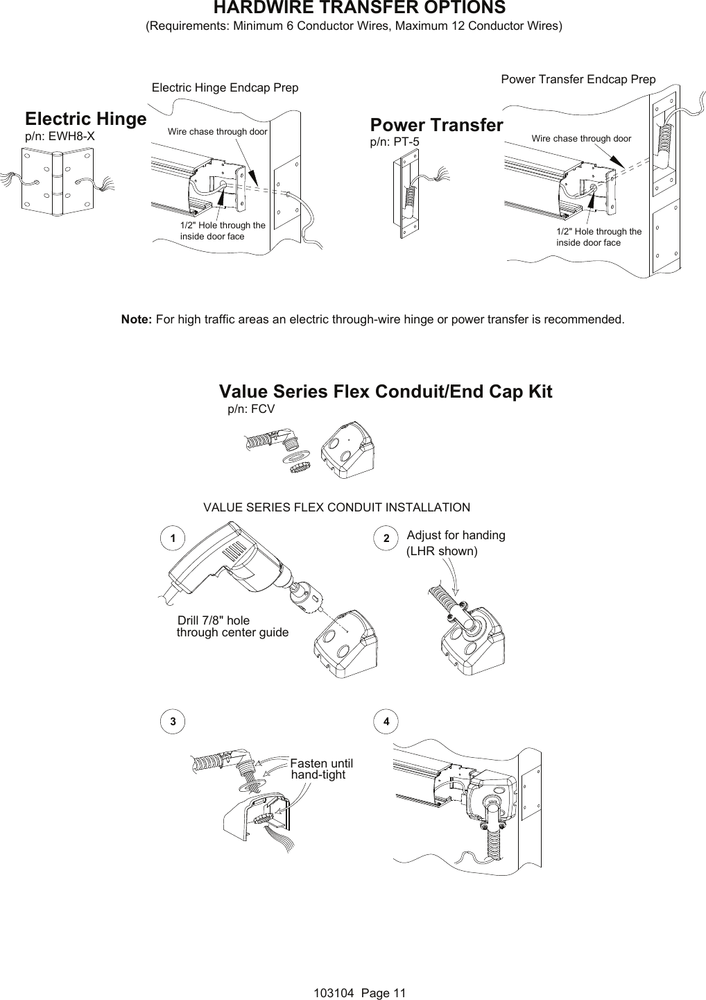 Detex Installation Instructions For Architectural Value Series