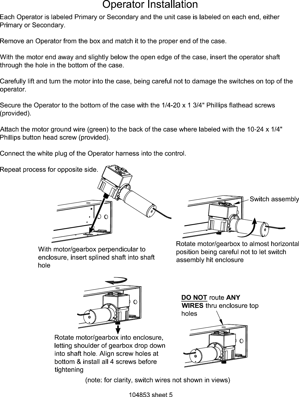 Detex R Twin Pull Style Ao19 2 Low Energy Automatic Door Operator Wiring Diagrams Page 5 Of 10