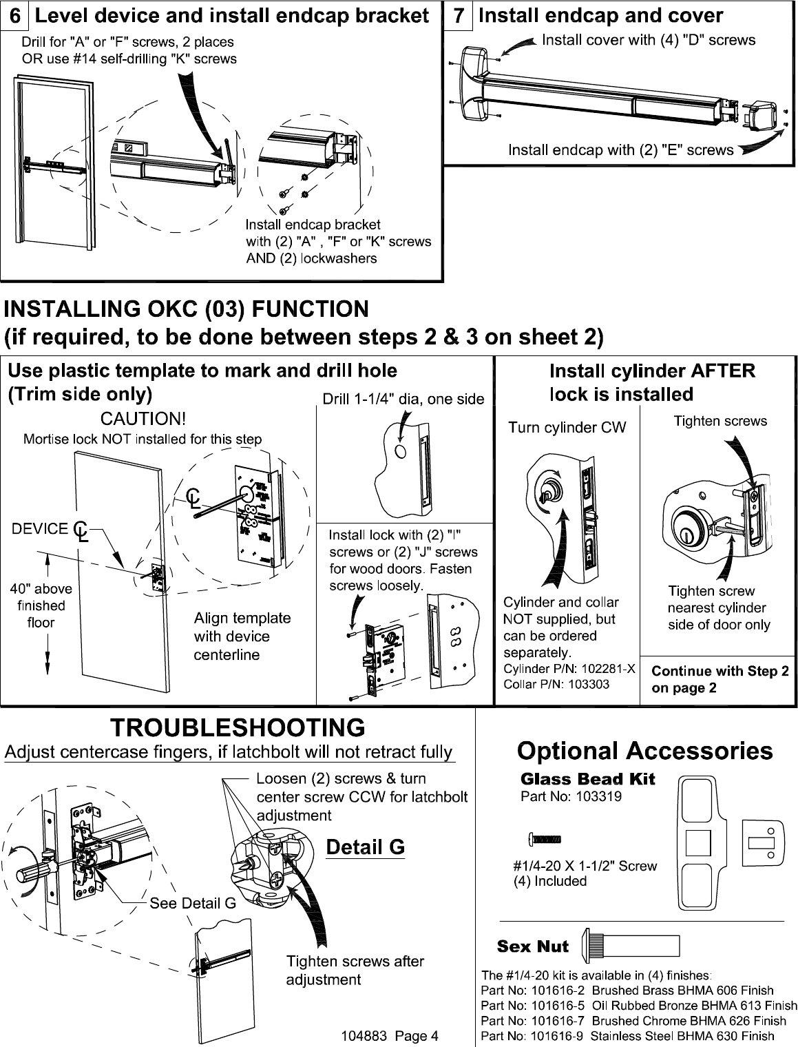 Brevetto Us8292336 Mortise Lock Assembly Manual Guide
