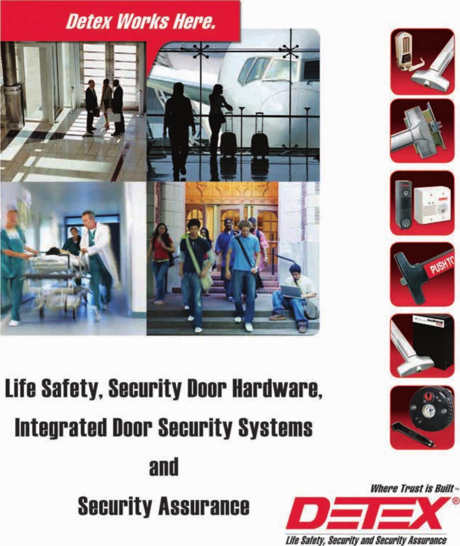 Detex DX2 Hinge Door Hardware & Locks