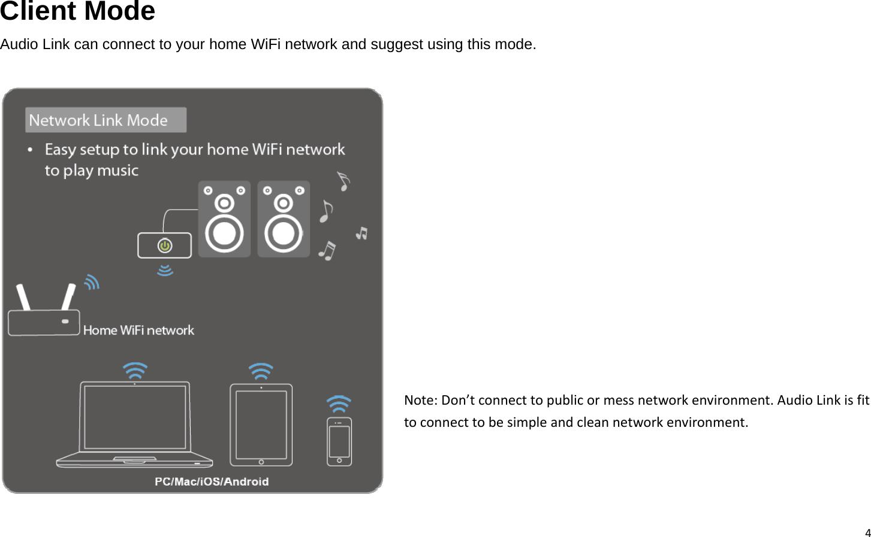 Dexatek Technology SA5117 Wireless Audio Link User Manual Audio Link