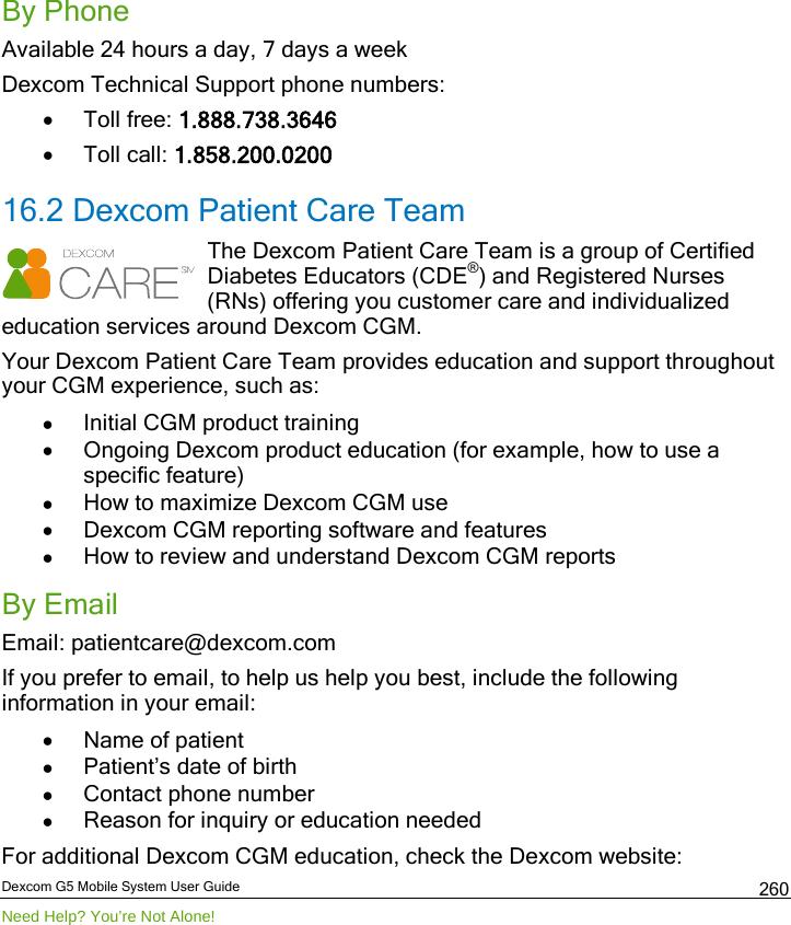 Dexcom 9949 Scout Receiver User Manual