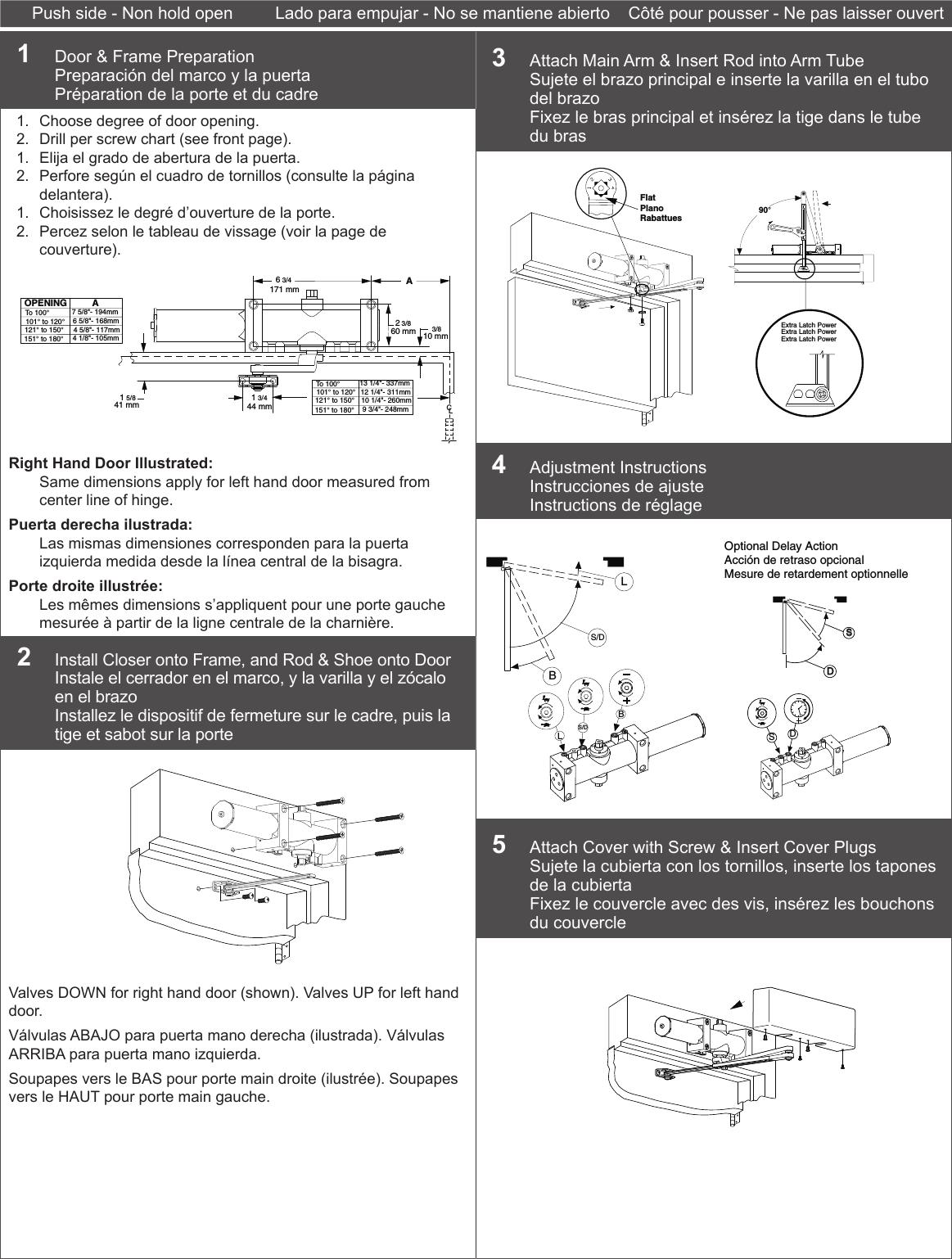 Dexter Falcon Dch1000 Rwpa Instructions Rw Pa 111033