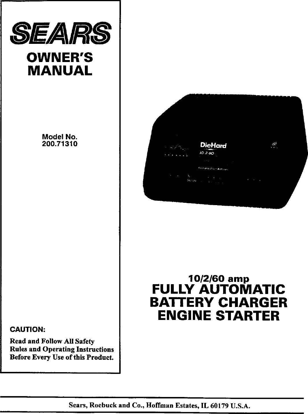 ... Array - diehard 20071310 user manual battery charger manuals and guides  l0305324 rh usermanual wiki