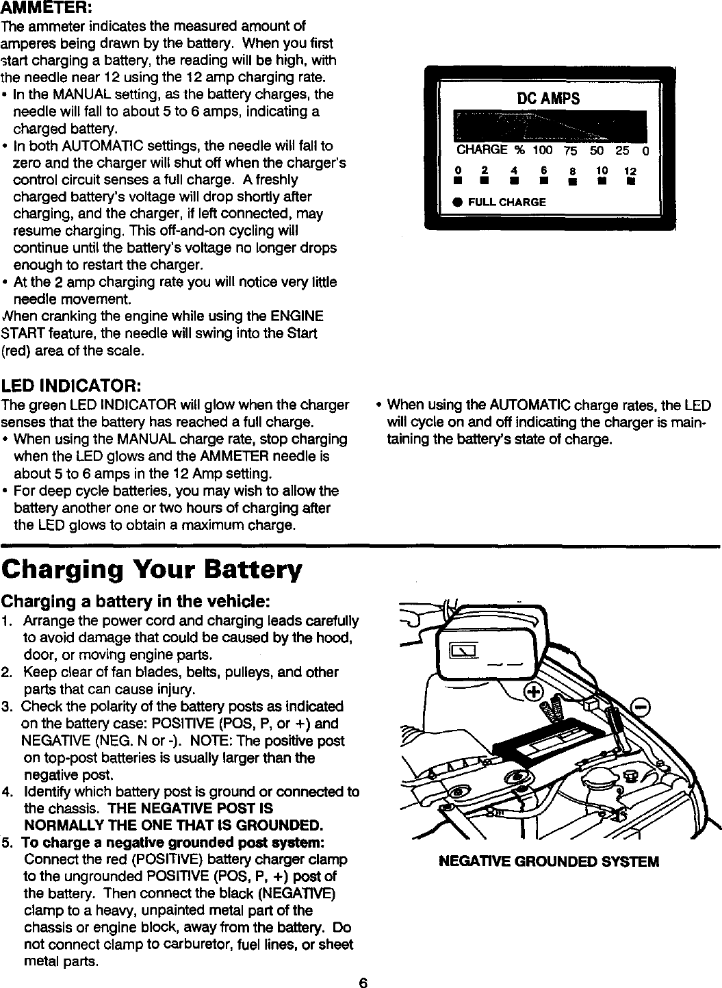 Diehard 20071312 User Manual Battery Charger Manuals And Guides L0305326 Charge Current Indicators Controlcircuit Circuit Diagram Page 7 Of 12