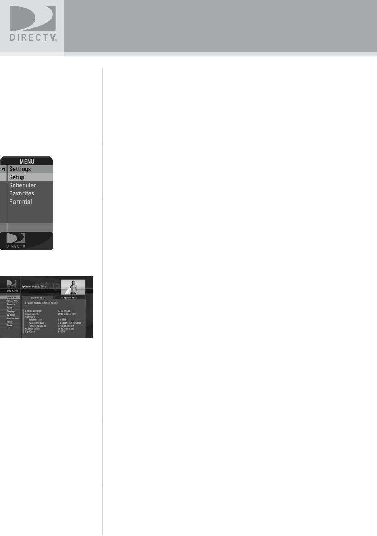 Directv Sat Go Users Manual SatGo_03 30 07
