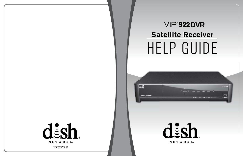 Dish Vip 922 User Guide 176779_SL_COVERUserManual.wiki
