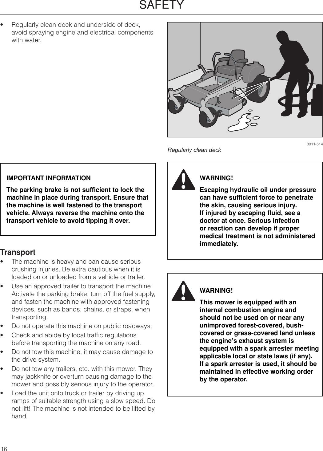 Dixon 966043101 Users Manual OM, SPDZTR 30, BF, 2009 09, 966043101