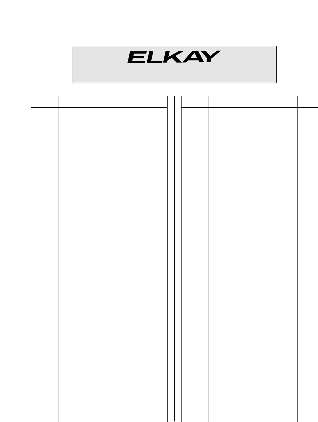 Replacement Cartridge Elkay A55503R