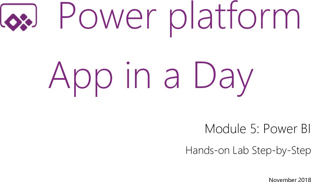 05 Power BI Lab Manual