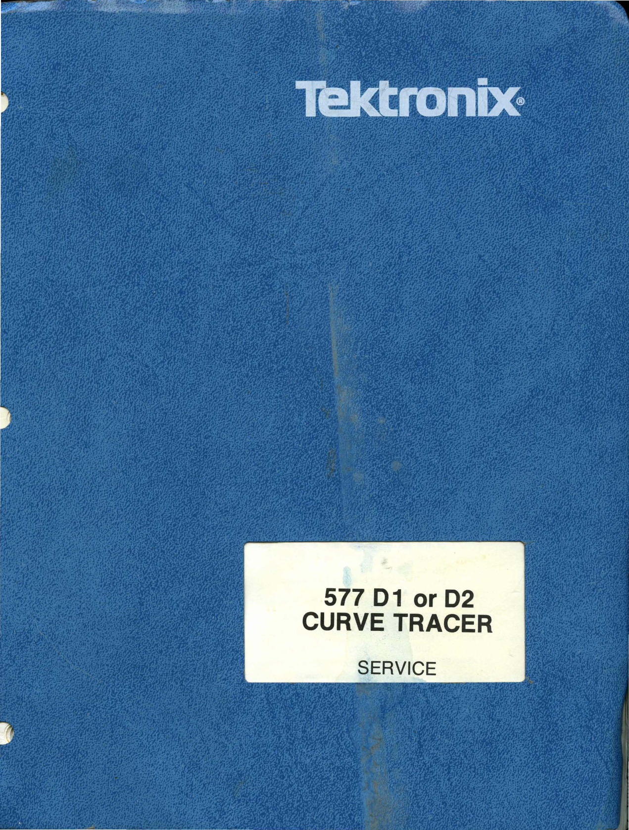 070 1414 00 Tektronix 577 Curve Tracer Service Feb88 Circuit Oscilloscope