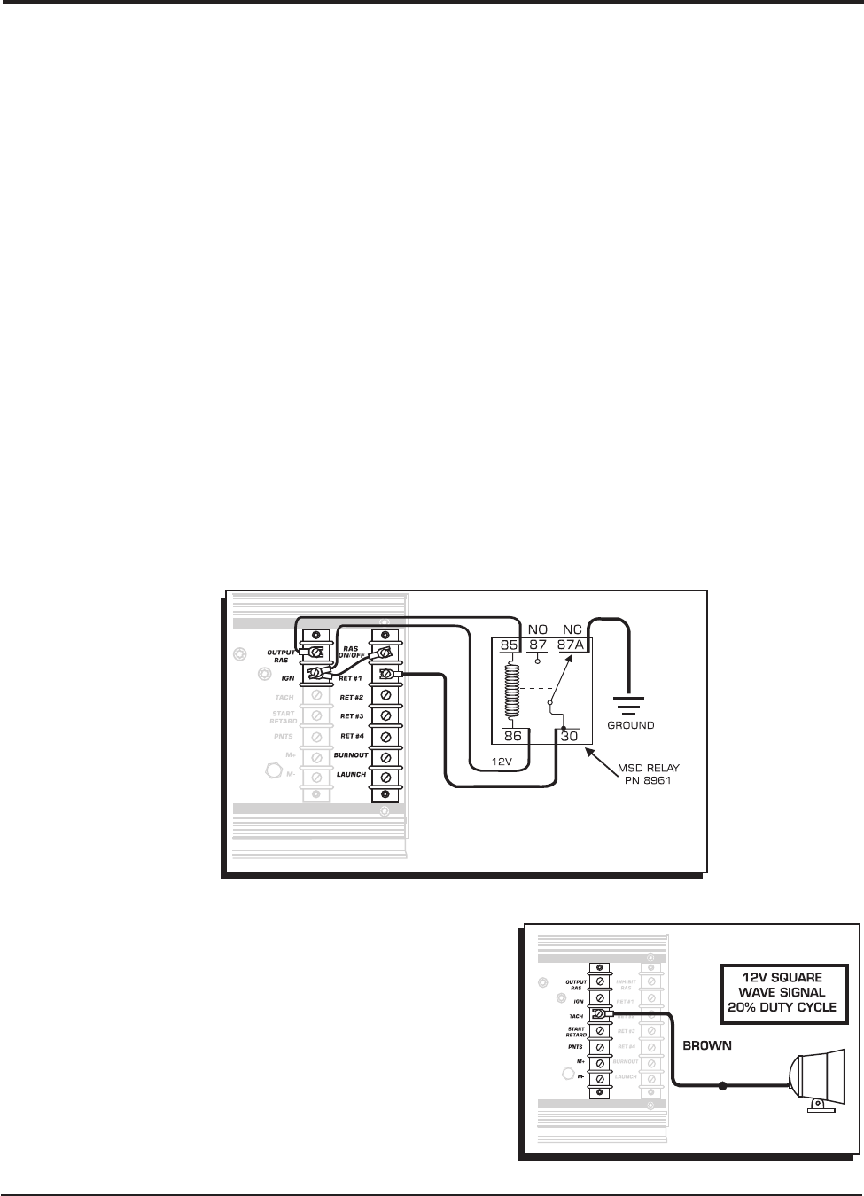 Msd 7230 Ignition Kit Installation Instructions 121 Wiring Diagrams For Msd6 Offroad With 8920 Tach Adapter 10