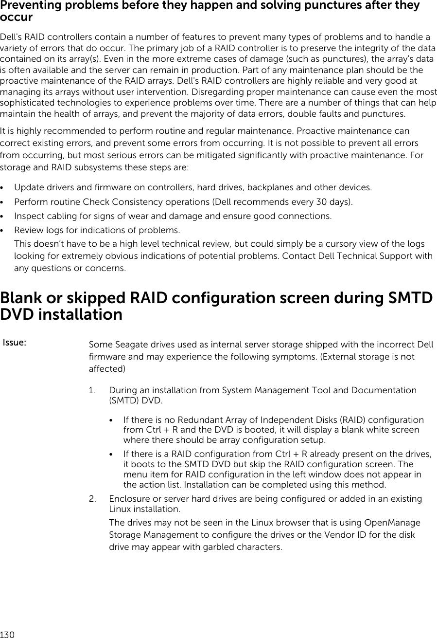 Dell Perc H330 Raid Configuration