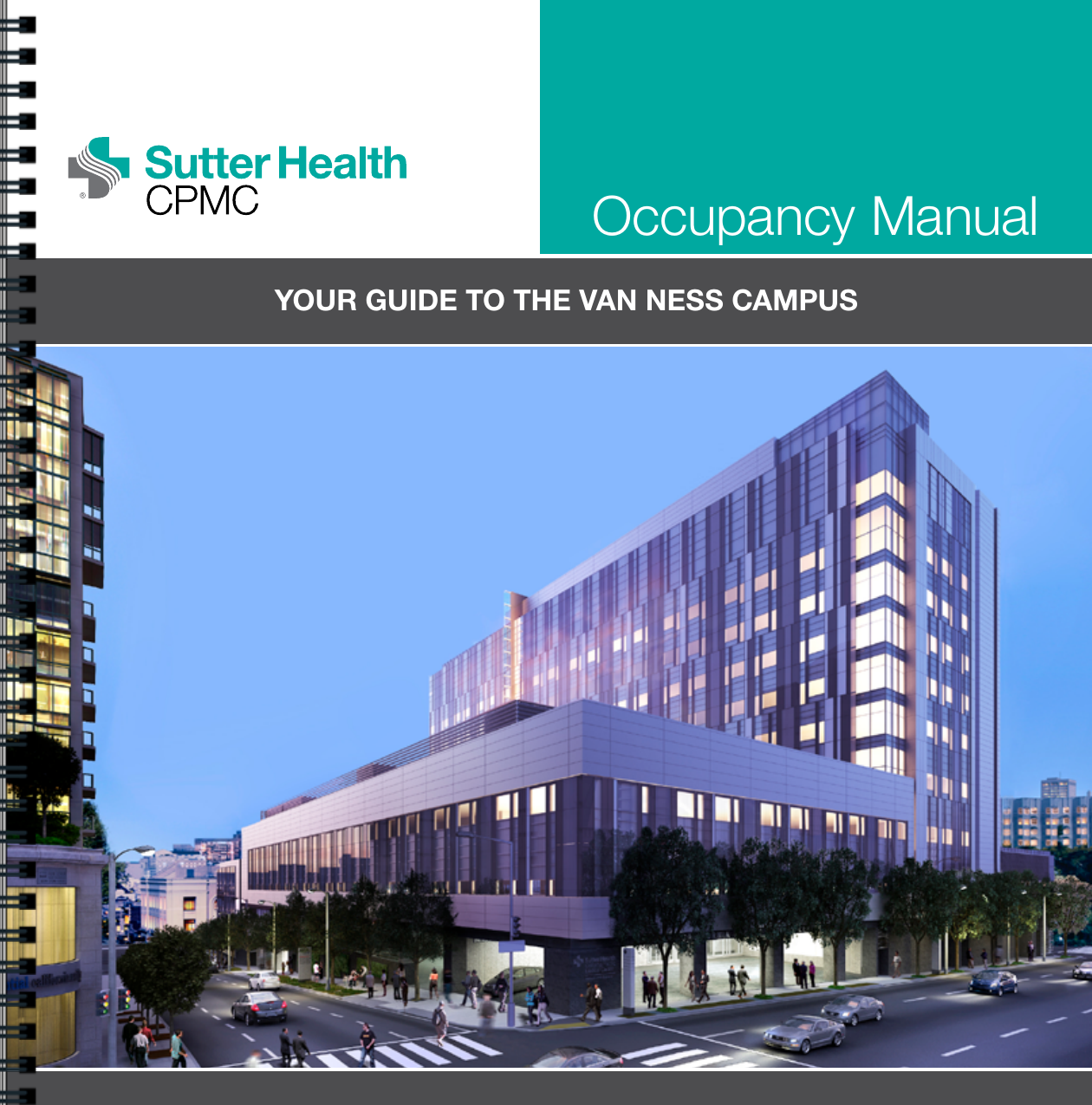 Sutter Health CPMC Van Ness Hospital Occupancy Manual 18
