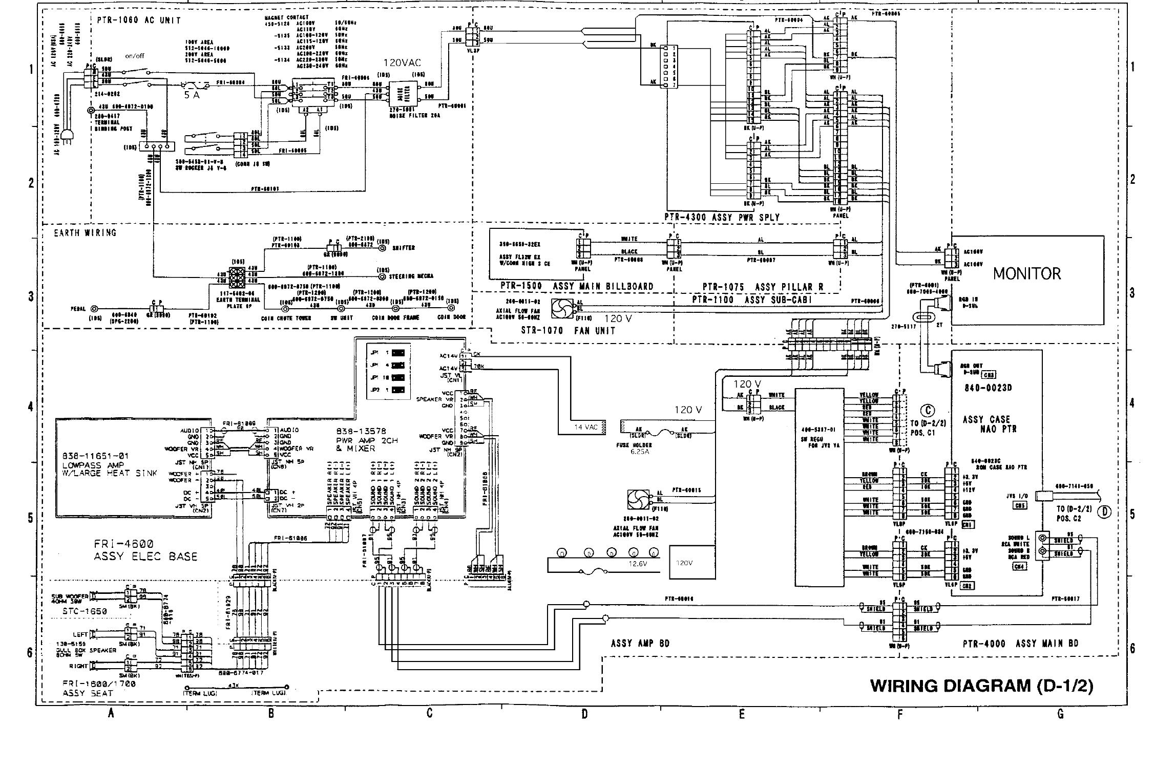 wd18wstd1 18 wheeler std wiring diagrams Auto Gauge Wiring