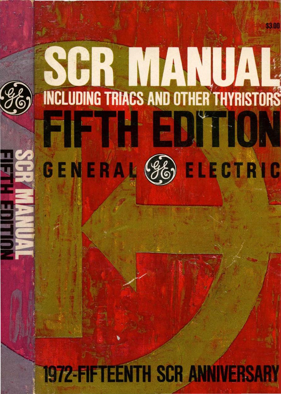 1972 Ge Scr Manual 5ed 5 8211 30 Minute Timer