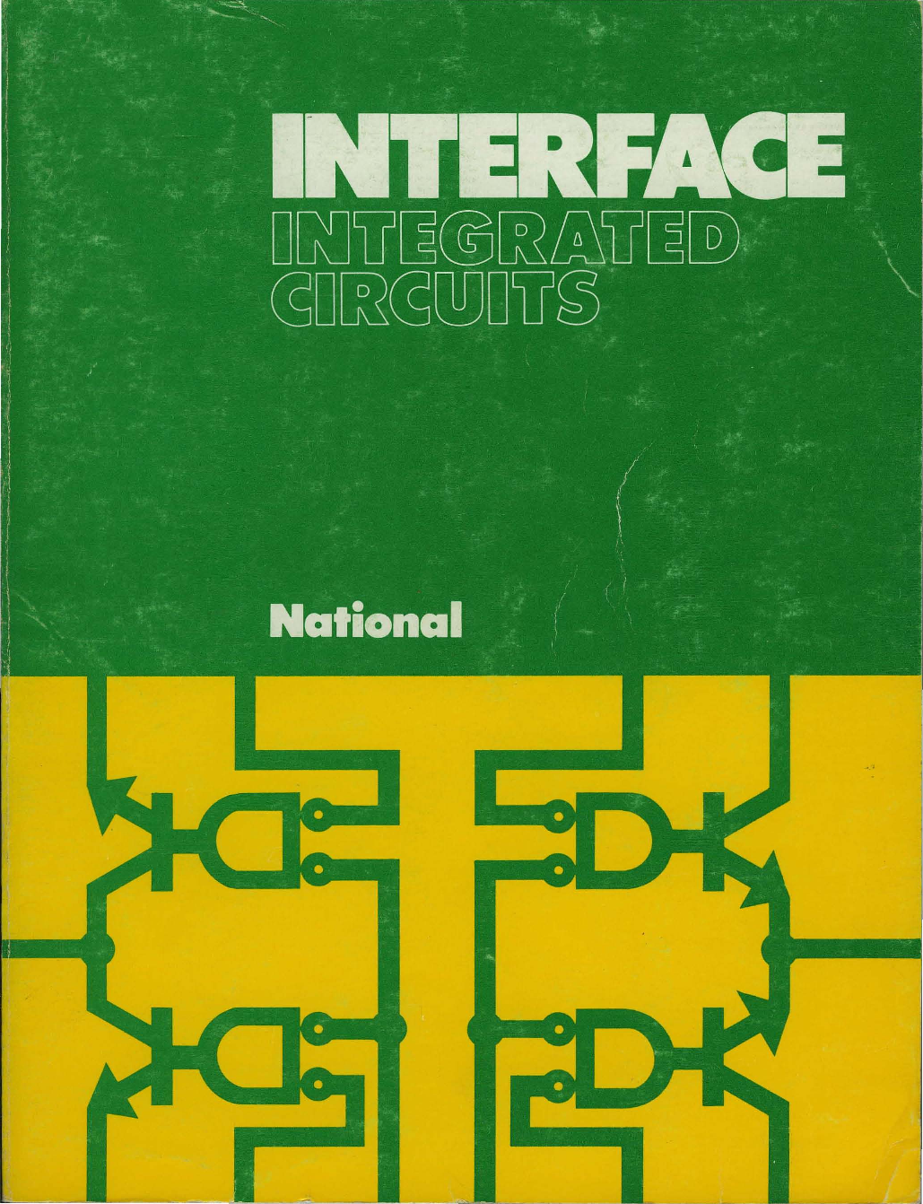 1974 National Interface Integrated Circuits 1hz Clock Generator With Chip On Board Cob
