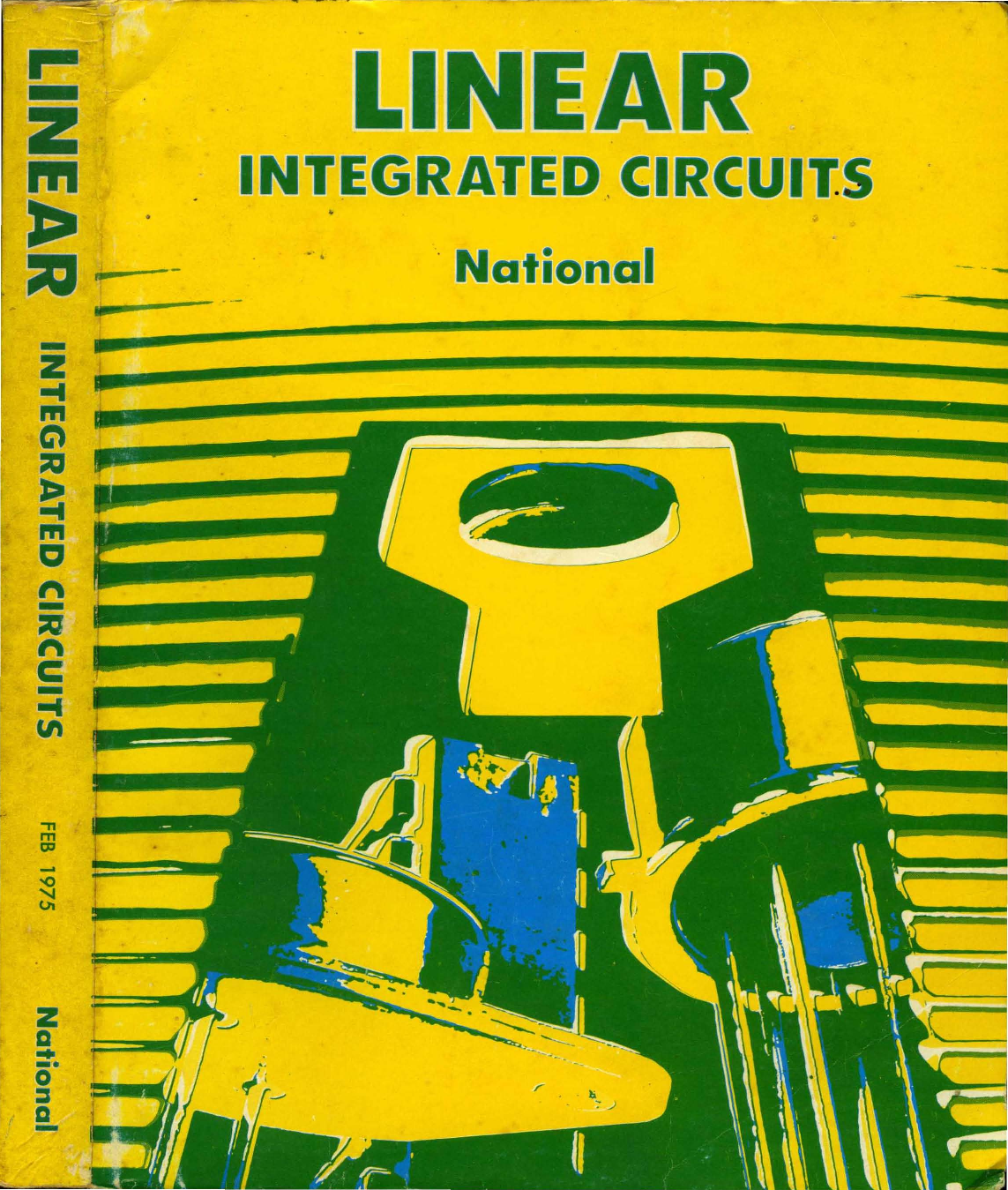 1975 National Linear Integrated Circuits Basic Infrared Transmitter Circuit Lm567