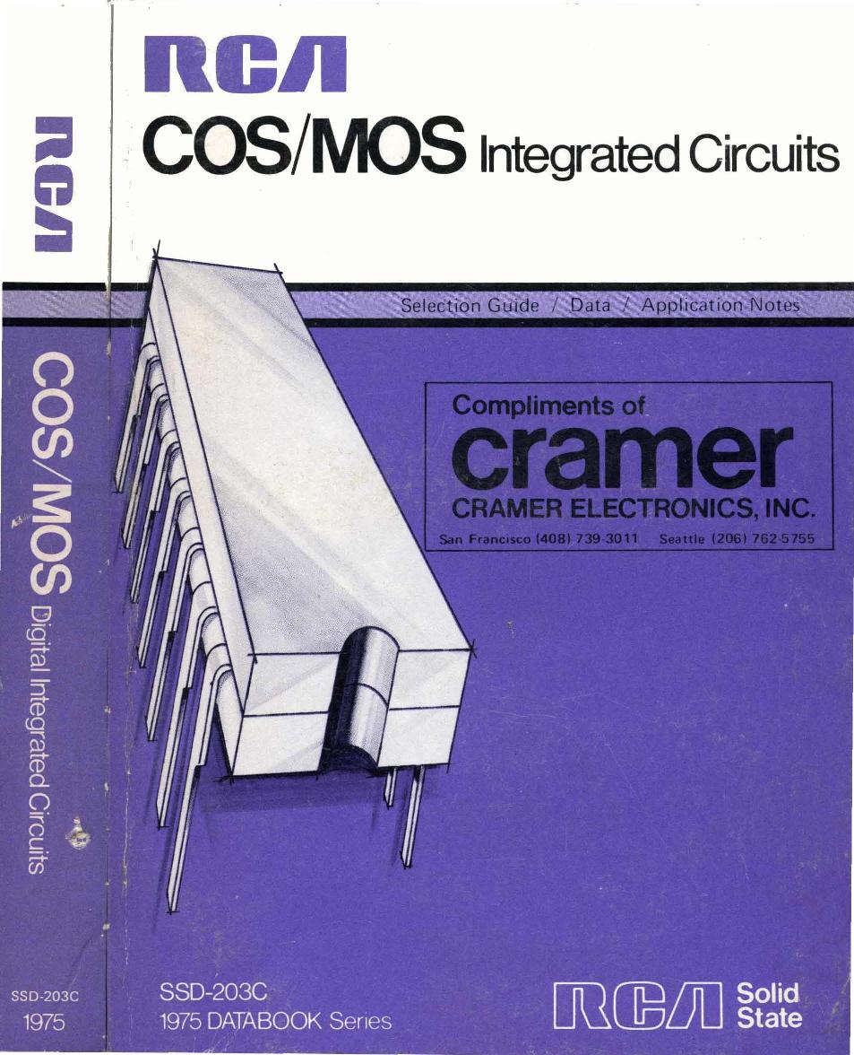 1975_RCA_COS_MOS_Integrated_Circuits 1975 RCA COS MOS