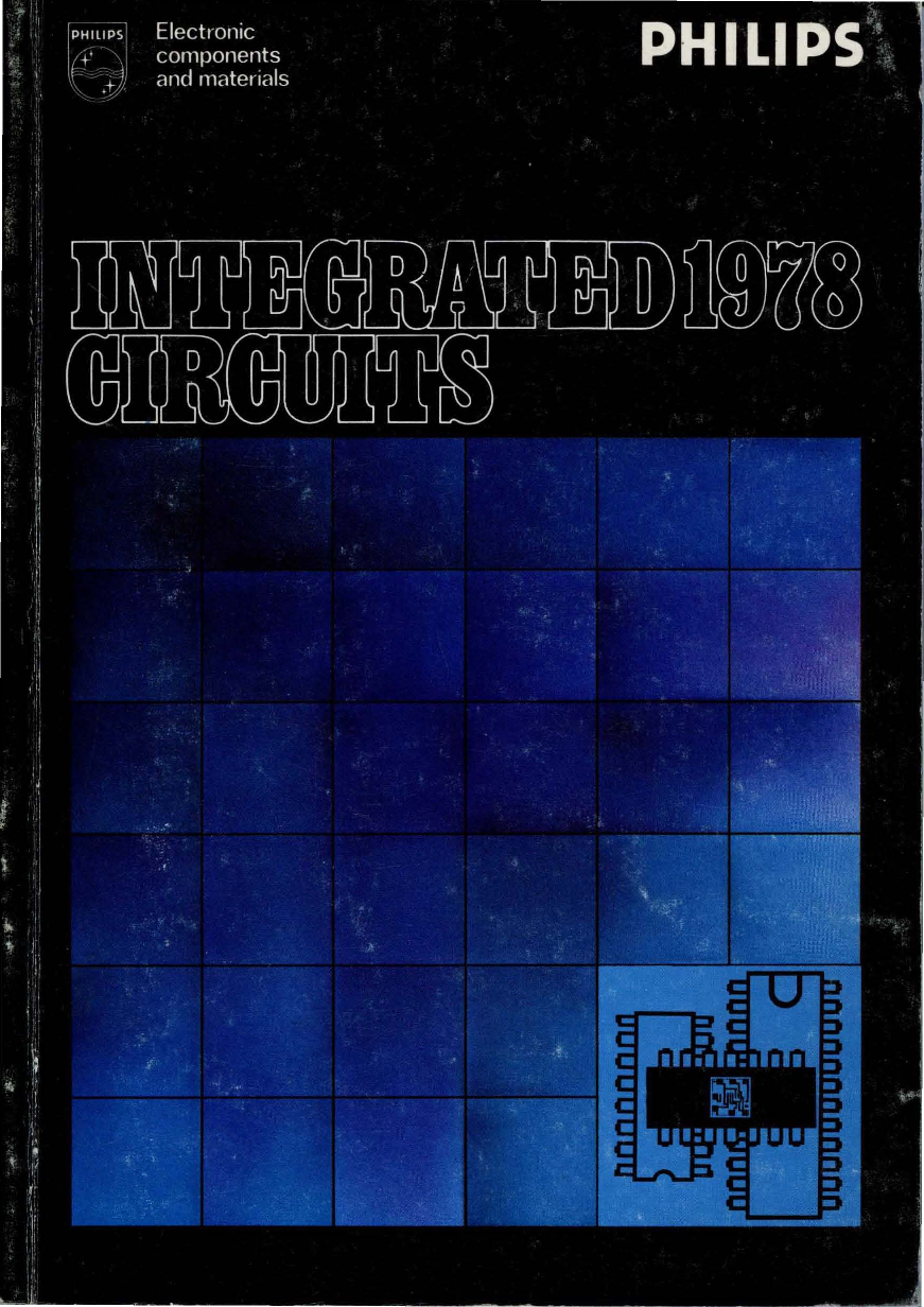 1978 Philips Integrated Circuits Single Power Supply Voltage In Lm124 Application Circuit And Datasheet