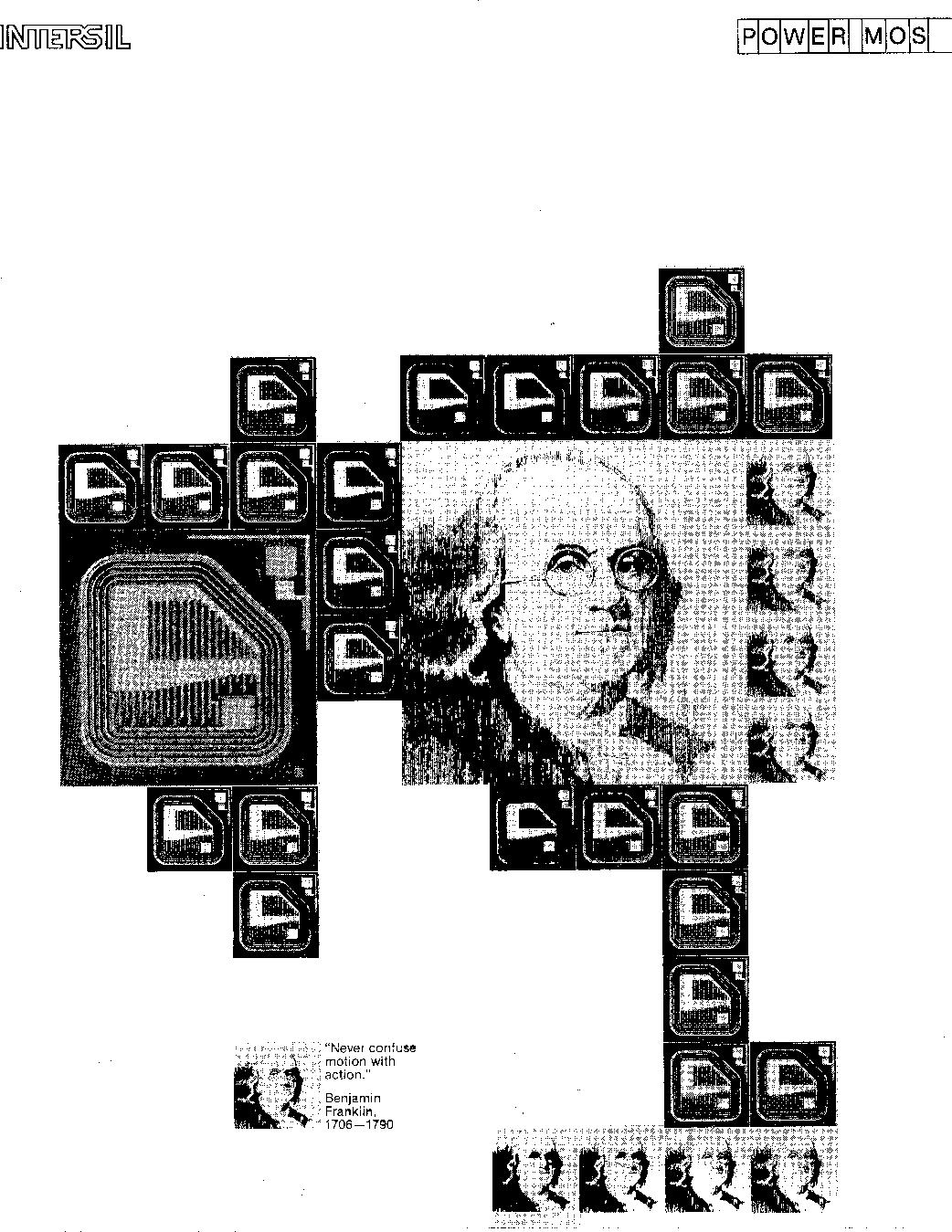 1981 Intersil Power Mos 5v 10a Regulator Circuit Switchingregulatorcircuit