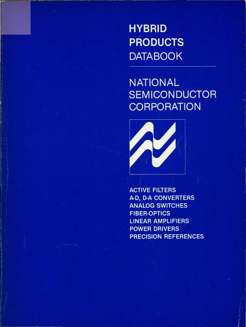 1982 National Hybrid Products Databook Piezoceramic Charge Amplifier Element14