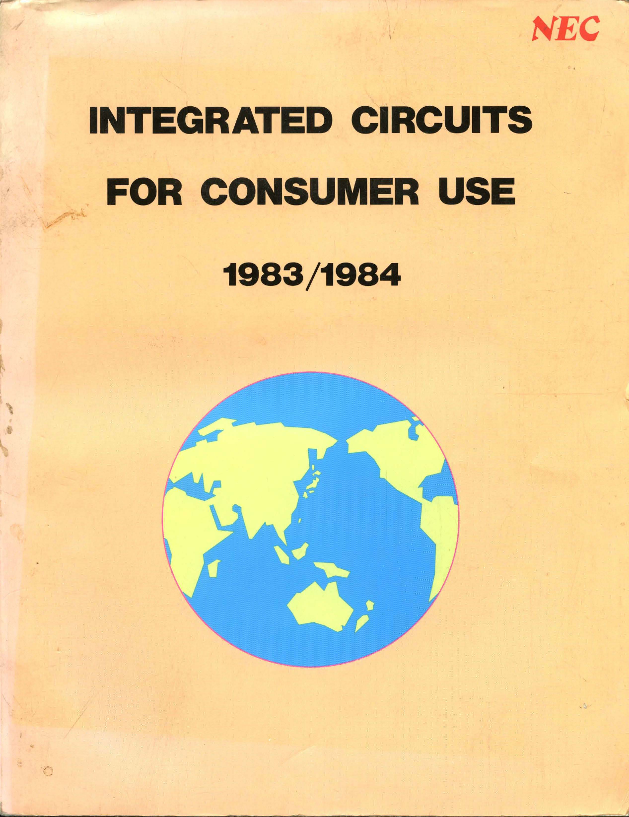 1983 Nec Integrated Circuits For Consumer Use K6 700 Watt Audio Amplifier And Switching Power Supply