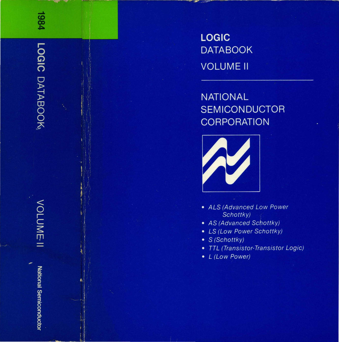 1984 National Logic Databook Volume 2 Digital Probe By Ic Ttl 7414