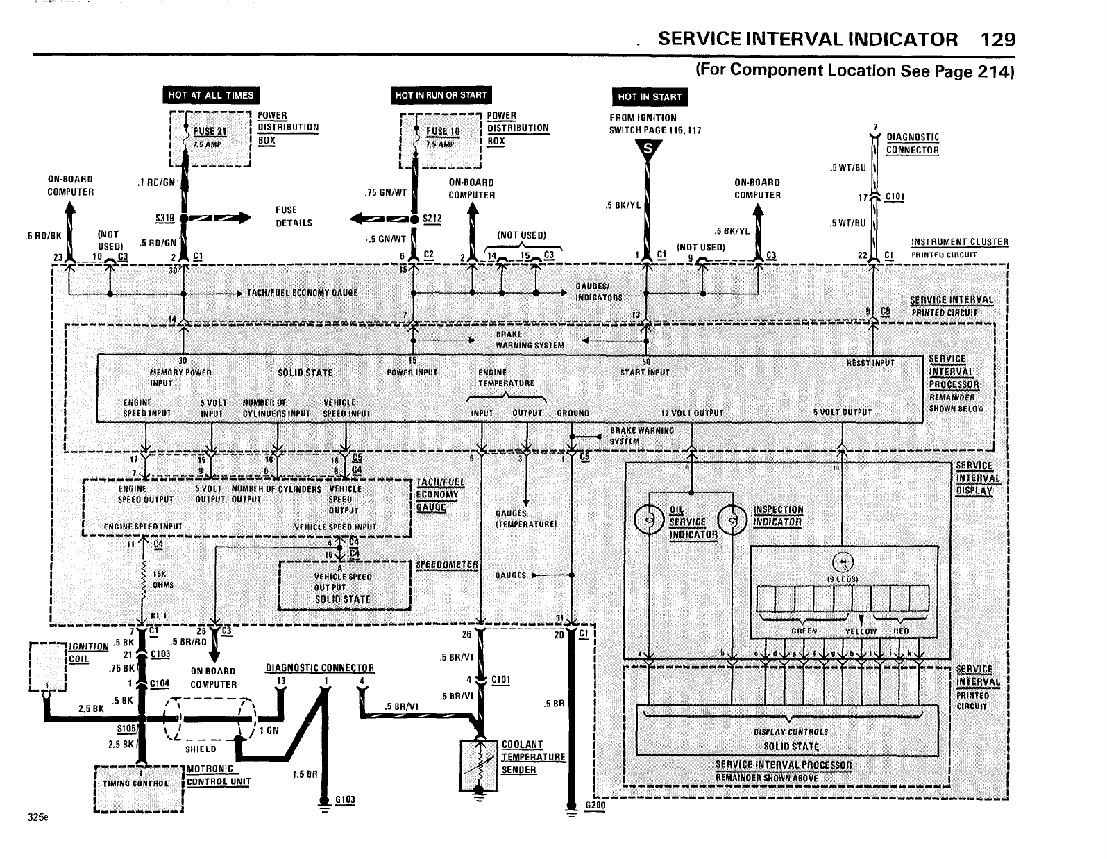 Bmw 325e 318i E30 1985 318i 325e Electrical Troubleshooting Manual