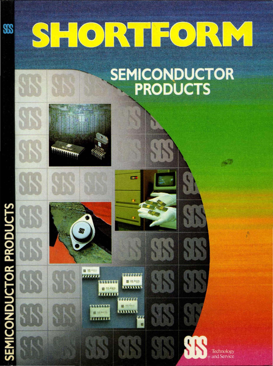 1985 Sgs Shortform Catalog Dc To Ac Inverter By Ic 555 And Tip41 Tip42