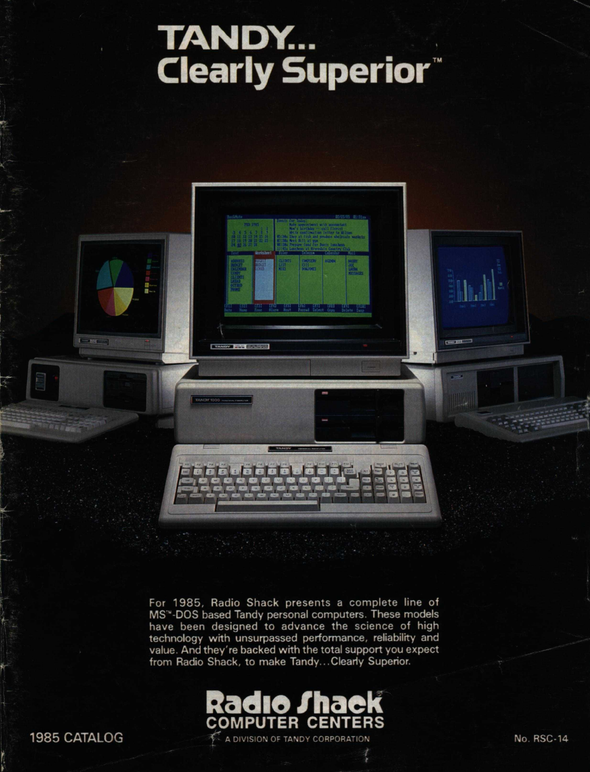 1985 Radio Shack Tandy Computer Catalog